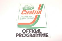 CASTROL RALLY POINT Long Marston 1972
